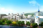 云南华侨城温泉公菲拉酒店北区北侧透视图北区北面