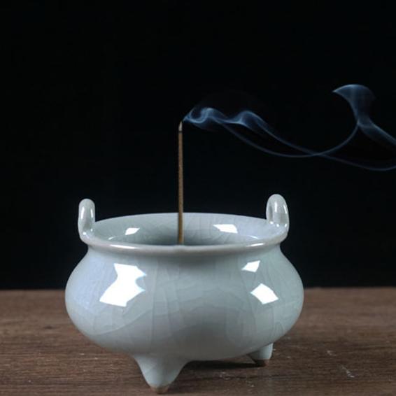 龙泉青瓷香炉
