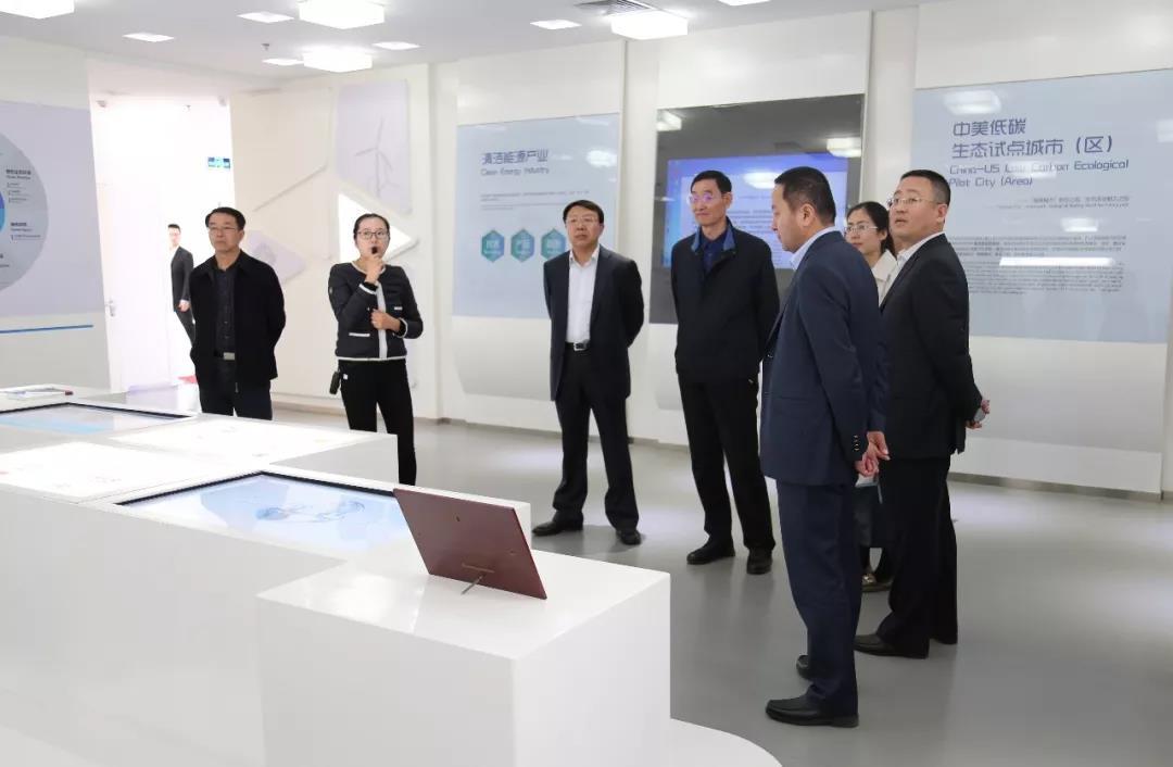 刘埃林董事长带队赴山东考察
