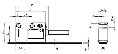磁头及安装尺寸图