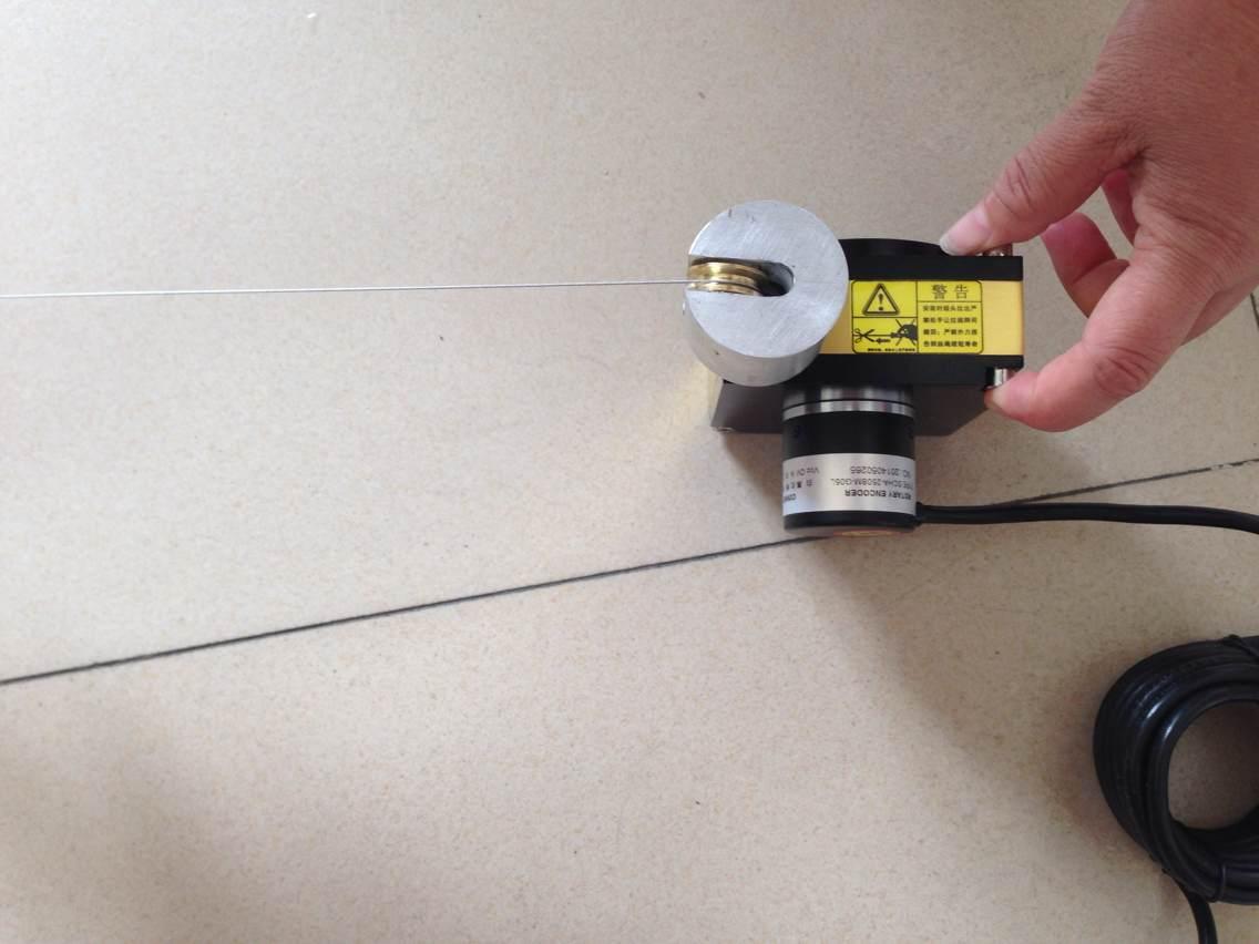 供应2米拉线编码器带滚轮