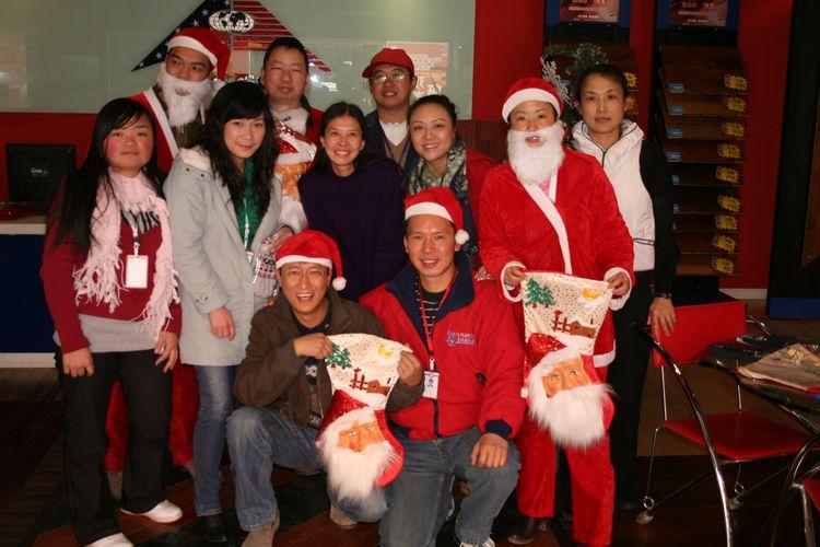 奥斯腾2011圣诞会