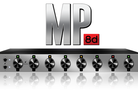 MP8d 8-channel Mic Preamp and A/D