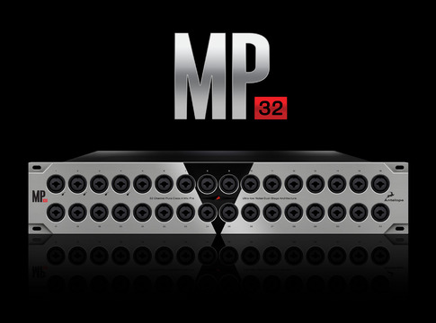 MP32 32-channel Microphone Preamp