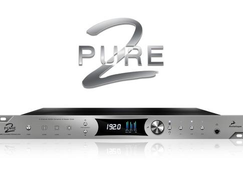 Pure2 Mastering AD/DA Converter & Clock