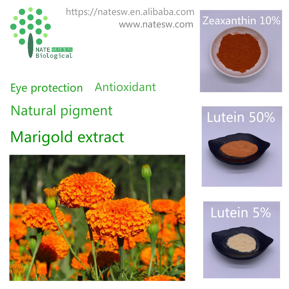 Natural pigment - marigold extract - lutein - zeaxanthin