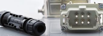 谈到安全连接,您可以完全信赖我们的产品。工业连接器在机械及设备制造等领域提供绝对的安全连接。