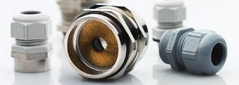 SKINTOP®电缆夹套确保每一次的安全连接。只需简单的将电缆穿入夹套并旋紧即可。电缆立刻完美居中固定。