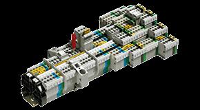 三大产品系列,三种连接技术—Wieland DIN导轨接线端子(无论是螺钉连接,弹簧连接还是直插式连接)为每个安装任务提供最正确的选择——应用于机器或工厂建设,能源技术或建筑安装的控制柜。 Wieland DIN导轨接线端子Selos和Fasis系列提供最佳处理和统一,标准化的配件。这不仅保证了快速的布线时间,也降低了设备和供应链中的库存成本。 为我们的客户需求,提供一个全面的服务组合——定制的组装服务,解决方案。