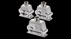 重载连接器是专门为在极其恶劣环境中的应用而设计的。模块化的设计能使电压和信号的分配变的简单。 Reovs能轻松处理很多艰巨的工作——粉末涂层铸铝外壳,能有效保护机械应力和防止溅水和粉尘的进入 Revos 重载连接器的优势在于其模块化和简易的连接。即使在复杂的应用布线中,也能有效简化其接线难度。