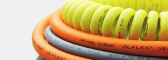 ÖLFLEX®广泛应用于机械,机床,系统及设备工程,测量,控制,热处理和空调技术。