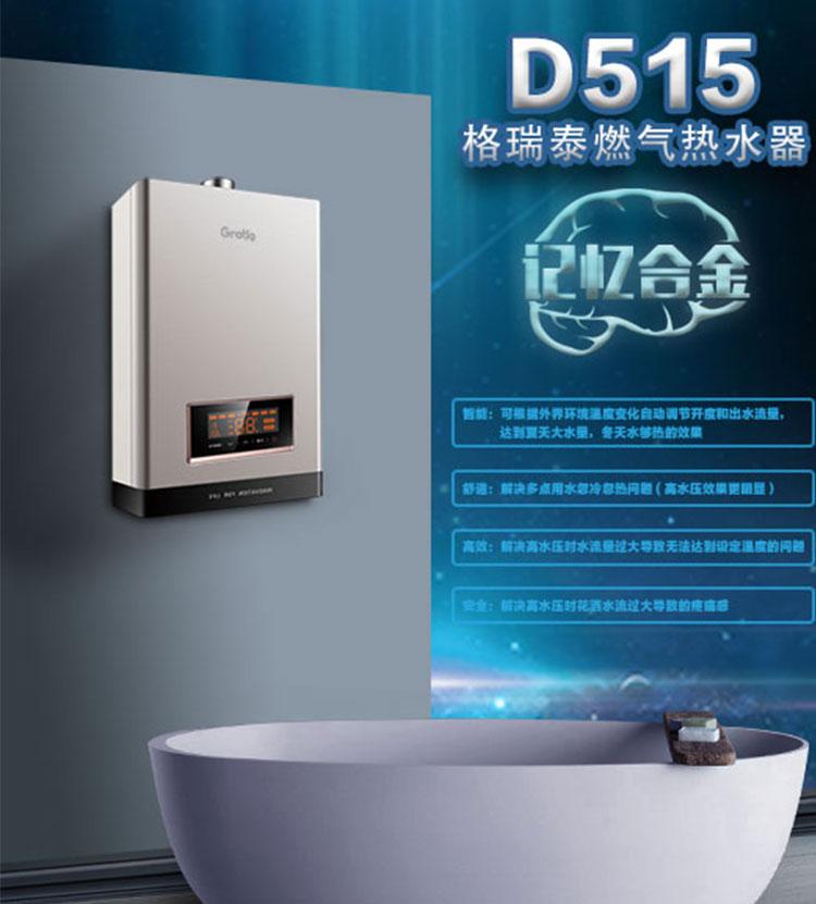 燃气热水器D515系列