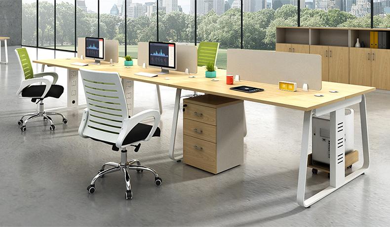 板式办公桌 两人四人对坐桌