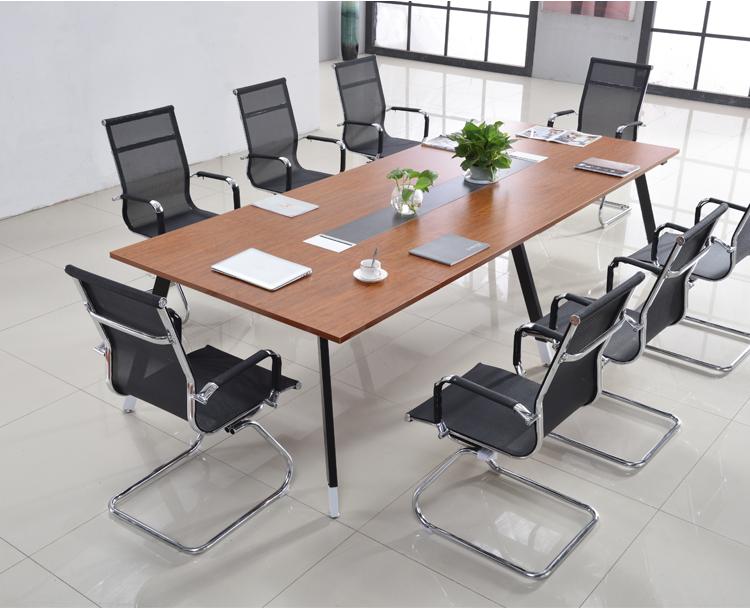 板式會議桌 3米5中型會議桌