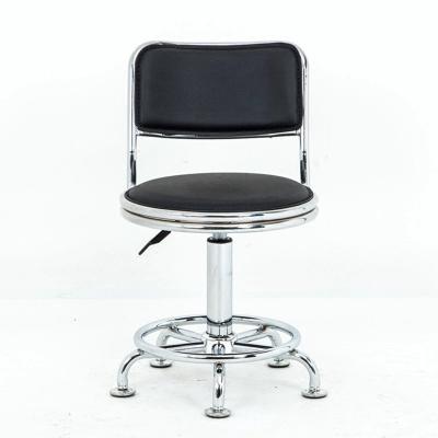 靠背升降小巧轉椅 辦公椅帶滑輪圓凳子