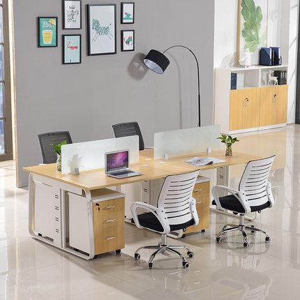 简约职员办公桌 单人 两人 四人 六人位办公桌