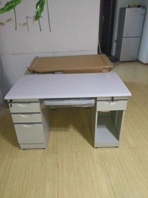 鋼制辦公桌 鐵質電腦桌