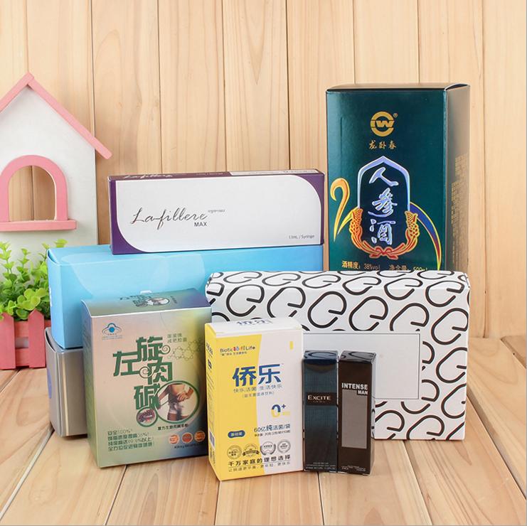 卡盒包装--管式包装盒定制