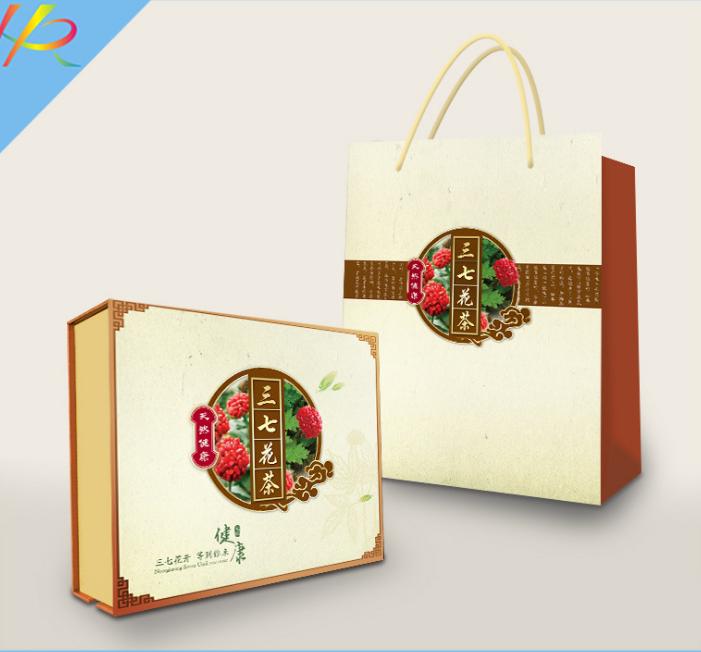 包装礼盒--三七花茶礼盒定制