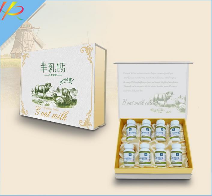 包装礼盒--羊乳钙片包装盒定制