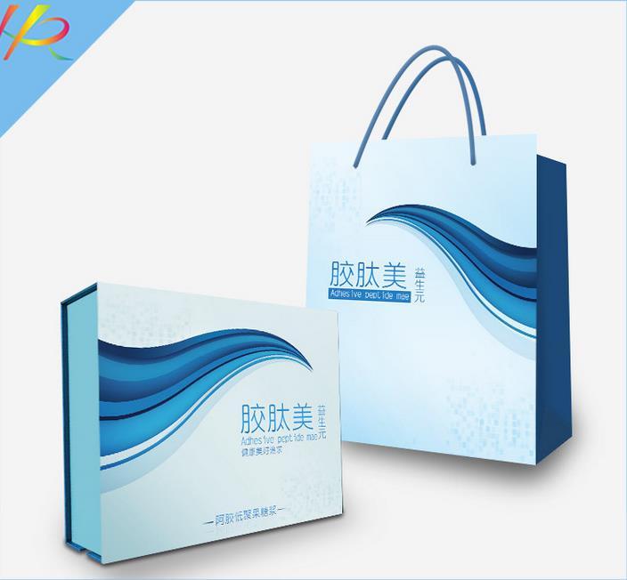 包装礼盒--阿胶保健品礼盒定制