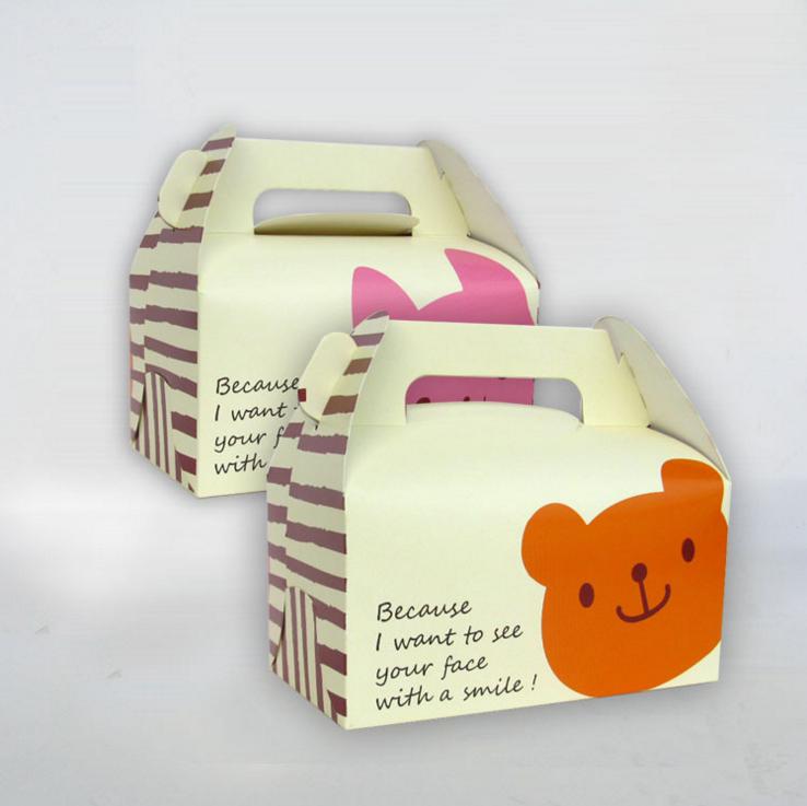 包装礼盒—蛋糕包装盒定制