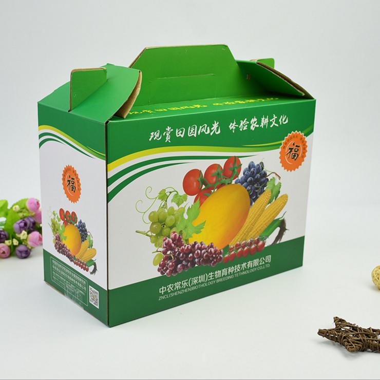 包装礼盒--水果特产礼盒定制