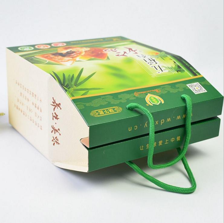 包装礼盒--棕子包装盒定制