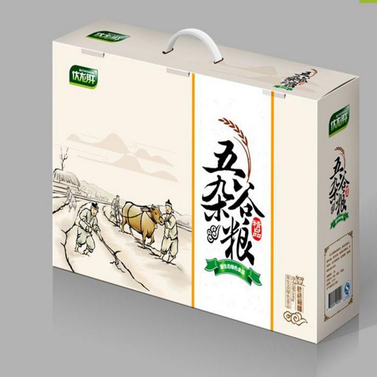 包装礼盒--有机大米礼盒定制