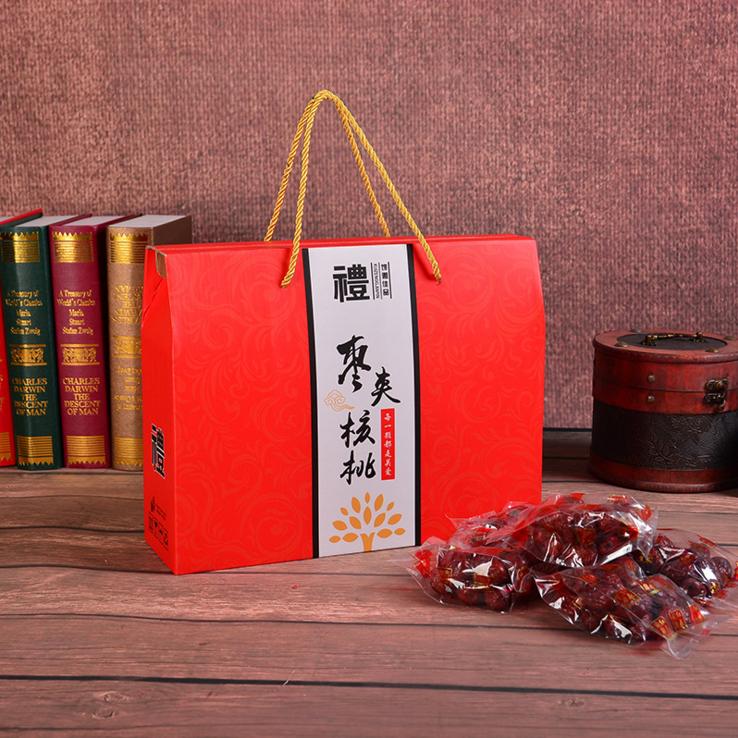 包装礼盒-- 红枣包装盒定制