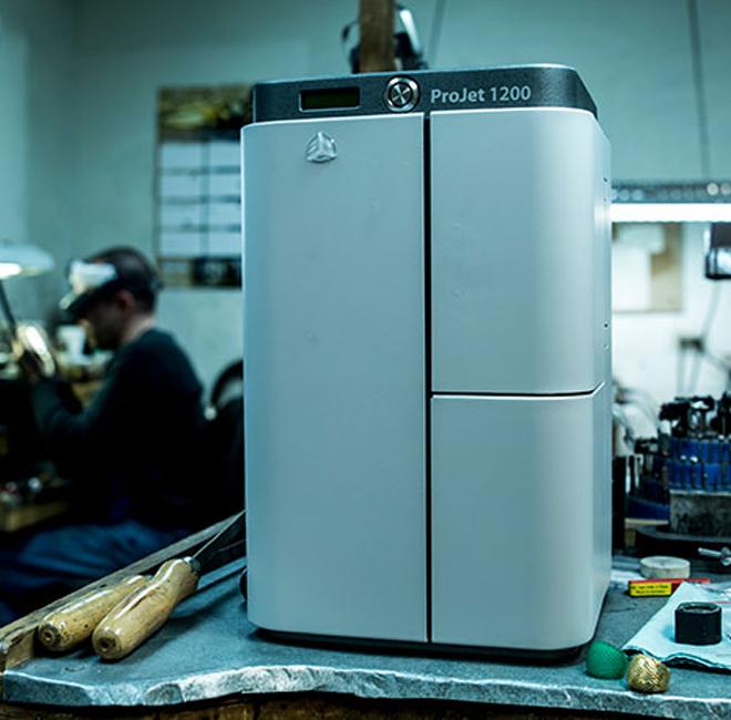 ProJet 1200 | 桌面型3D打印机