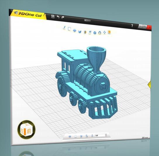 3DOne Cut | 激光切割3D打印机