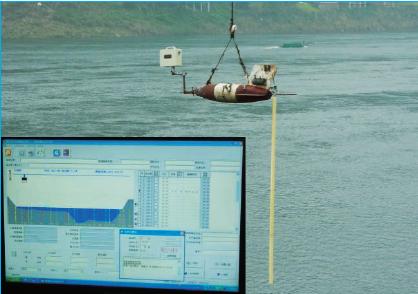 铅鱼缆道雷达波测流系统