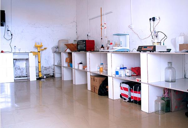 昌达化工引进国外先进生产工艺和技术设备,建设起了国内领先的专业化、高效化、规模化、持续化的甲醇钠生产厂家,图为生产厂家的实验室实景摄影.
