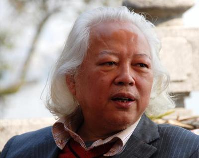 吴山明教授(国画)