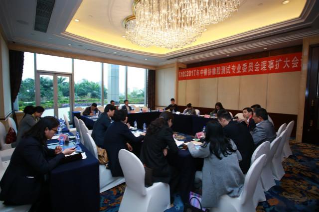 2017橡胶测试专业委员会理事扩大会议在广州召开