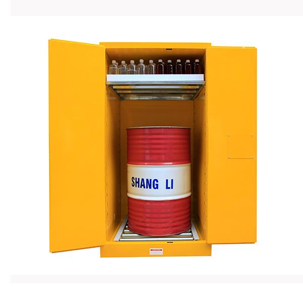 55加侖易燃液體兩用分區單桶油桶櫃