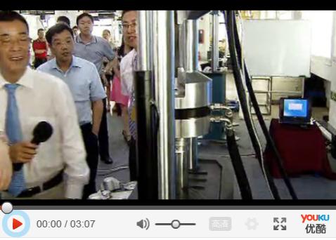 科技部萬鋼部長和深圳市許勤市長視察三思縱橫