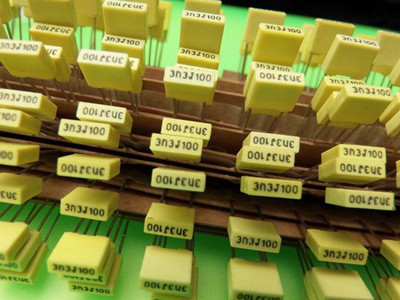 CL21X-B  小型化盒式聚酯薄膜电容