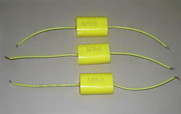 CBB20-A  金属化聚丙烯膜轴向电容