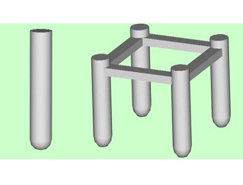 架空输电线路铁塔灌注桩基础设计软件