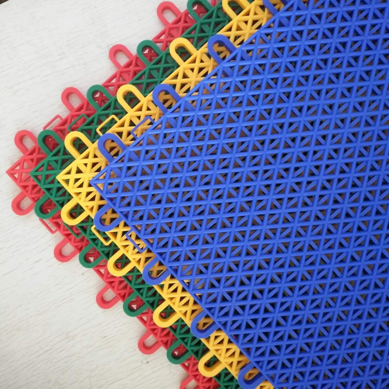 双层米格(菱形)-悬浮式拼装地板