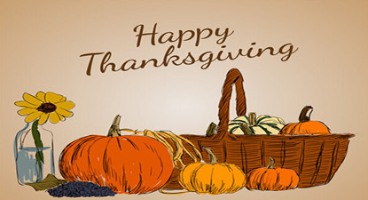 """Happy Thanksgiving""一起欢度感恩节!"