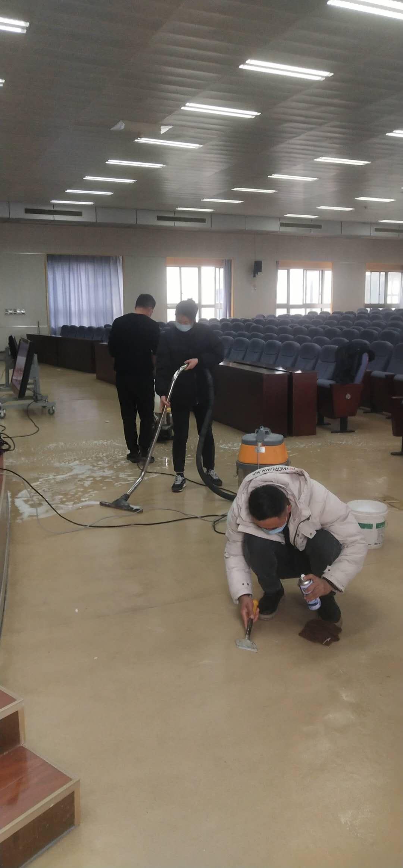 宣城市公安局会议室整体保洁