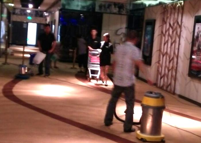 宣城國購影業地毯清洗