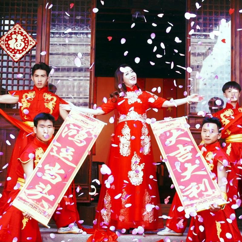 温柔vs赵真《新时代福运来》唱火幸福日子,财福新时代!