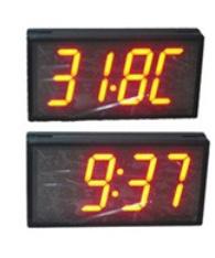 Time/Temperature Display