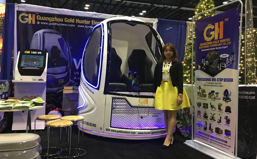 广州猎金电子科技有限公司盛装出席【IAAPA美国展】