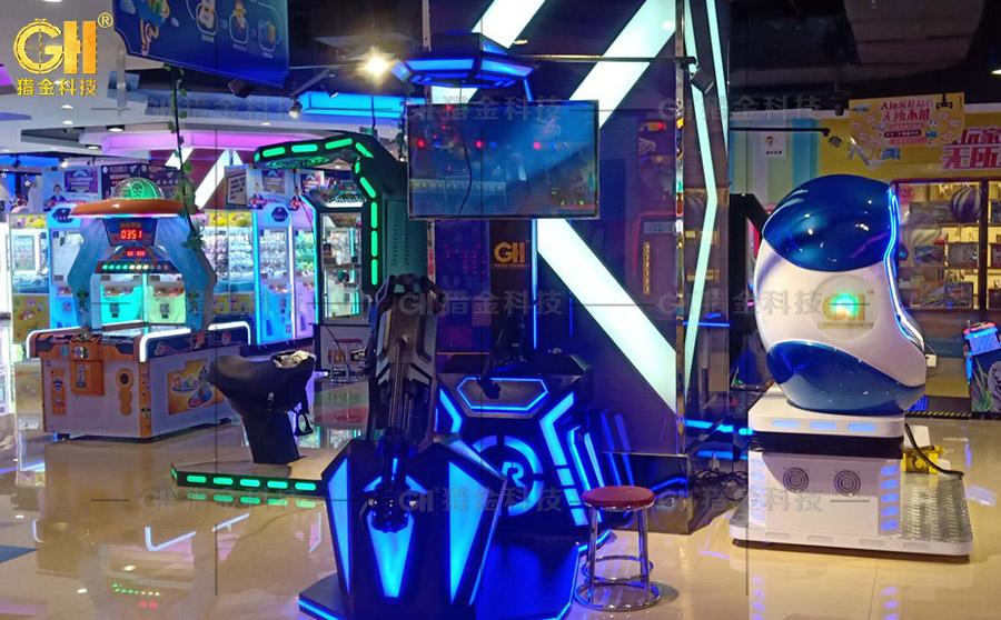 宁夏万达广场大玩家新增VR体验馆可以体验VR虚拟现实设备了!