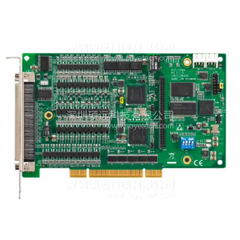 研华 PCI-1245-AE 4 轴通用DSP架构 脉冲型 运动控制卡